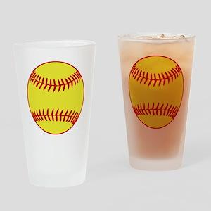 Sofball Drinking Glass