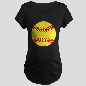 Sofball Maternity Dark T-Shirt