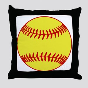Sofball Throw Pillow