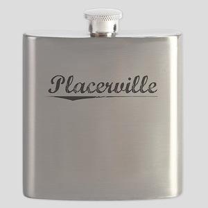 Placerville, Vintage Flask