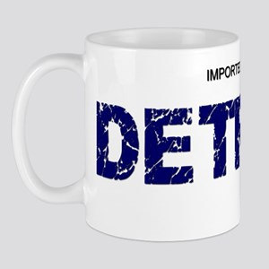 Imported From Detroit Blue Mug