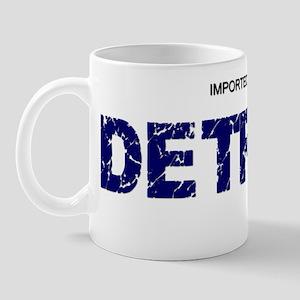 Imported From Detroit Blue Mug