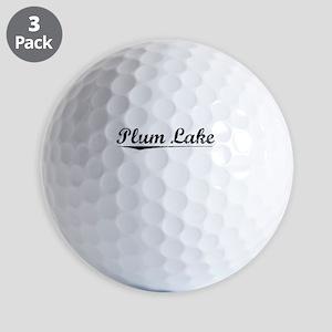 Plum Lake, Vintage Golf Balls