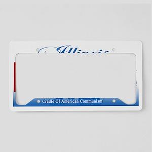 Obama Illinois Fail 2012 (ful License Plate Holder
