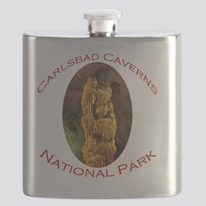 Carlsbad Caverns National Park...stalagmite Flask