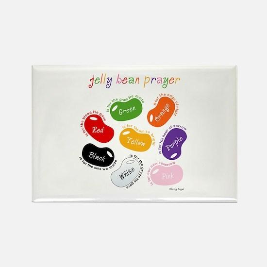 Jelly Bean Prayer Rectangle Magnet