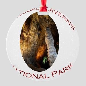 Carlsbad Caverns National Park...Ti Round Ornament
