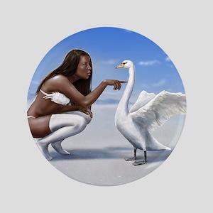 "swan rebuked 3.5"" Button"