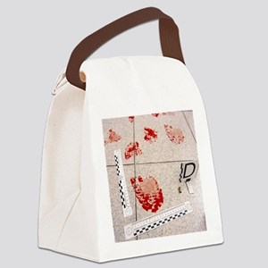 Recording evidence Canvas Lunch Bag