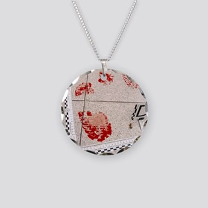 Recording evidence Necklace Circle Charm