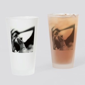 Prozac antidepressant capsule Drinking Glass