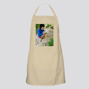 Research on green turtle eggs Apron