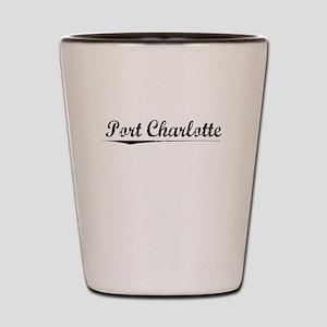 Port Charlotte, Vintage Shot Glass