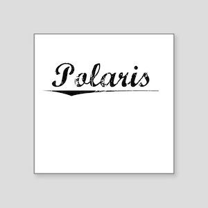 "Polaris, Vintage Square Sticker 3"" x 3"""