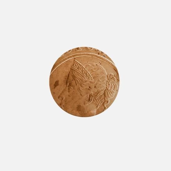 Queen Victoria Mini Button