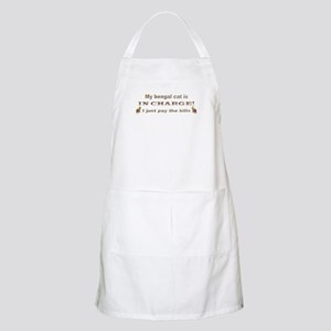 Bengal in Charge BBQ Apron