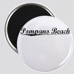Pompano Beach, Vintage Magnet