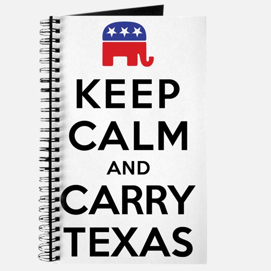 Keep Calm and Carry Texas Republican Journal
