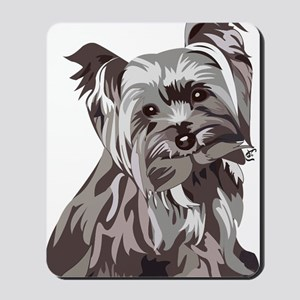 Neutral Yorkie Mousepad