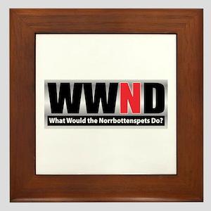 WWND Framed Tile