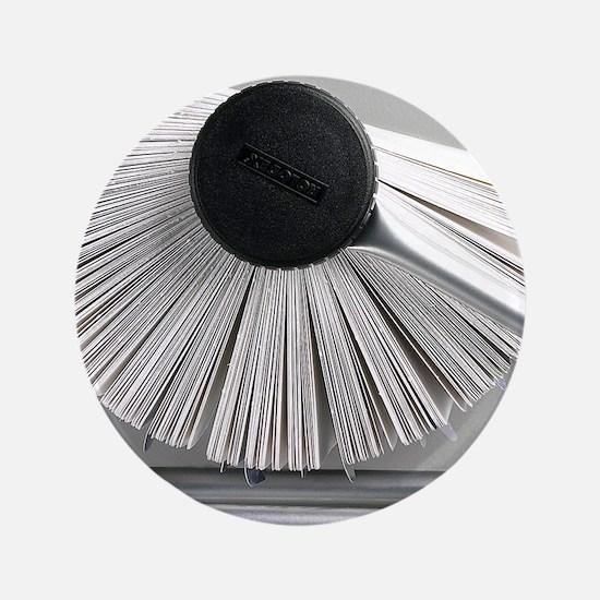 """Rolodex 3.5"""" Button"""