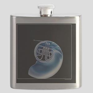 Frenchhorn Nautilus Flask