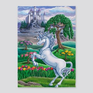 Unicorn Kingdom 23x35 5'x7'Area Rug