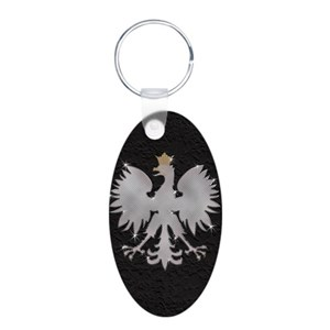 Polish White Eagle Keychains - CafePress e9133c3d1