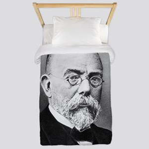 Robert Koch, German bacteriologist Twin Duvet