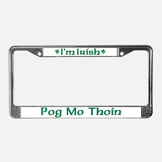 POG MO THOIN (KISS MY A**) License Plate Frame
