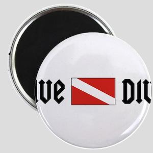 Dive Diva Magnet
