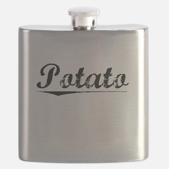 Potato, Vintage Flask