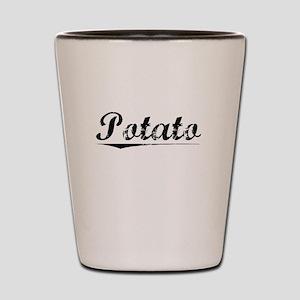 Potato, Vintage Shot Glass