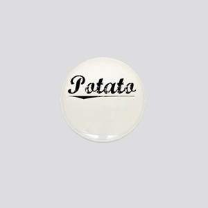 Potato, Vintage Mini Button