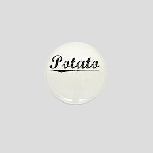 Potato, Vintage Mini Button