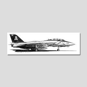 F14 Tomcat Car Magnet 10 x 3