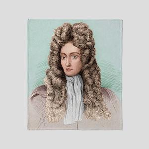 Robert Boyle, Anglo-Irish chemist Throw Blanket