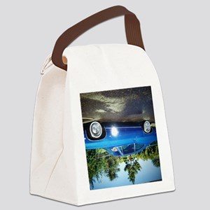 ALL BANGED UP Canvas Lunch Bag