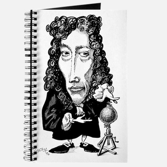 Robert Boyle, caricature Journal