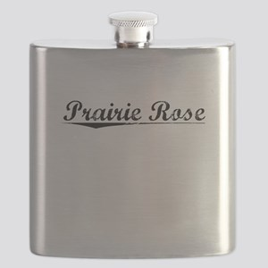 Prairie Rose, Vintage Flask