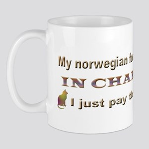 Norwegian Forest in Charge Mug