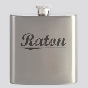 Raton, Vintage Flask