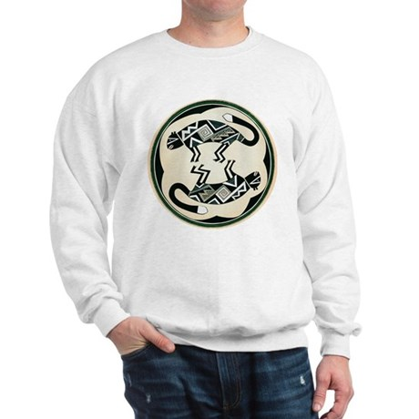 MIMBRES MOUNTAIN LION BOWL DESIGN Sweatshirt
