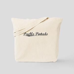 Pueblo Pintado, Vintage Tote Bag