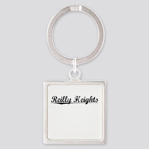 Reilly Heights, Vintage Square Keychain