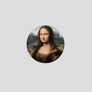 Mona Lisa Painting / Portrait Mini Button