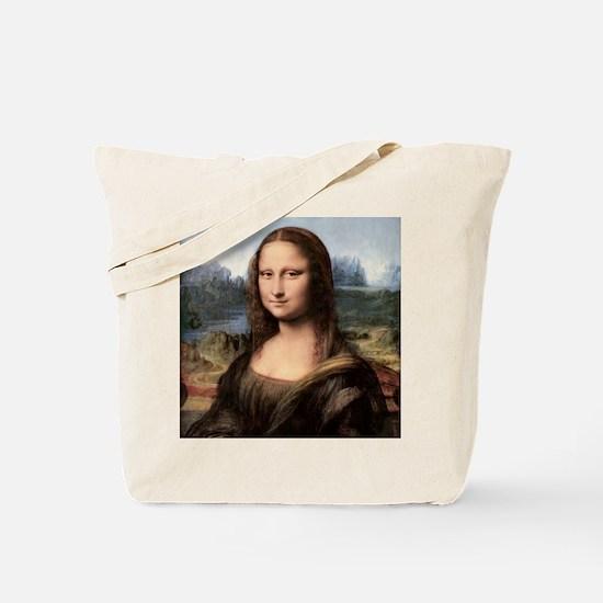Mona Lisa Painting / Portrait Tote Bag