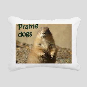 Prairie Dogs Rectangular Canvas Pillow