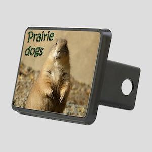 Prairie Dogs Rectangular Hitch Cover