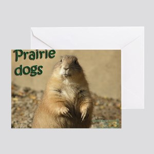 Prairie dog greeting cards cafepress prairie dogs greeting card m4hsunfo